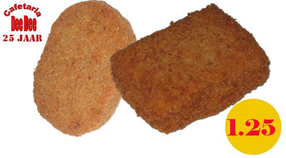 Nasi-schijf of Bami-blok